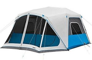 core 10 man tent with screen room