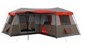 ozark trail instant cabin 12 man tent