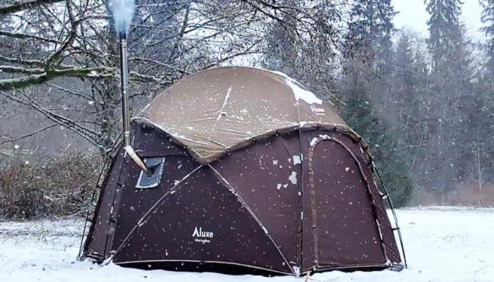 best 4 season winter tent