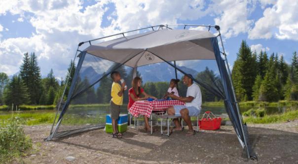 choose a Coleman Screen tent