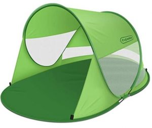 Portable beach tent for baby