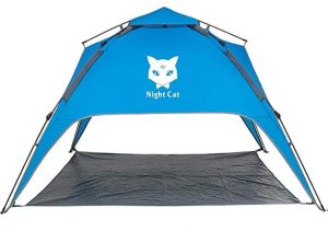 Easy setup family size tent