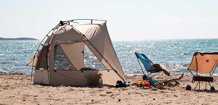 choose the best beach tents for wind
