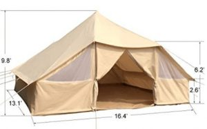 10 man canvas tent