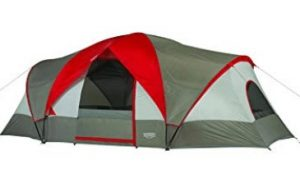 Wenzel 10 person 3 room tent