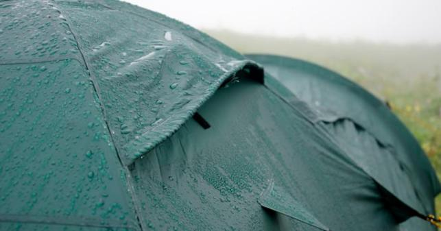what tent fabric is waterproof