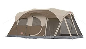 coleman 5 man tent for 4 season