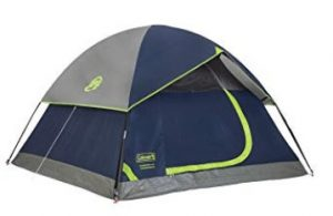 best coleman family tent