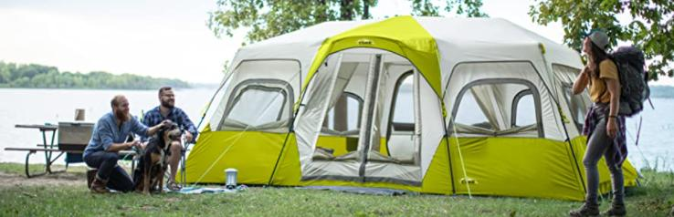 choose an affordable 10 person tent