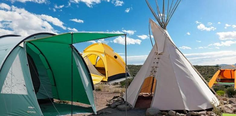 what are different types of tents
