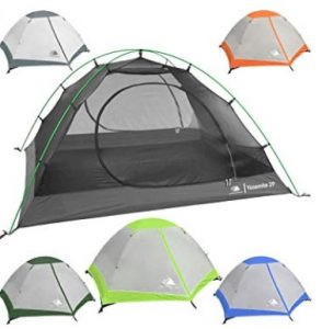 Two Door Ultralight Tent
