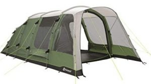 Outwell 5 Man Tent with 3 Rooms