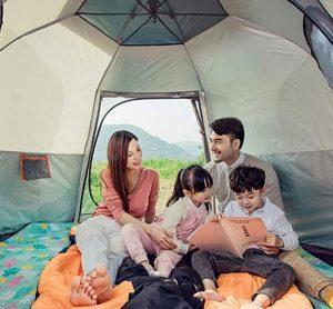 choose a proper size pop up tent