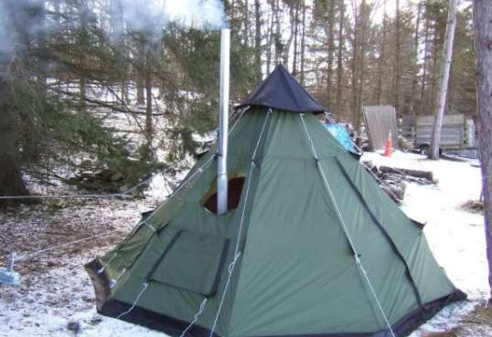 find a tent with stove jack