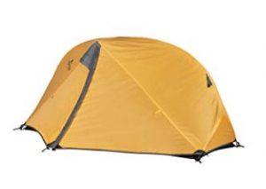 small ultralight hiking tent