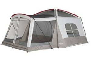 wenzel 8 person klondike tent for large family