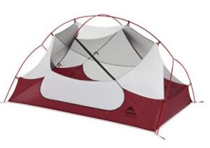 MSR 2 person tent for rain and wind