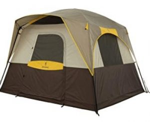 Browning tent for rainy and windy condition