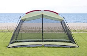 best outdoor instant screen tent for sun, rain and wind