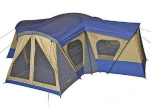 best ozark trail 14 man tent with 4 rooms