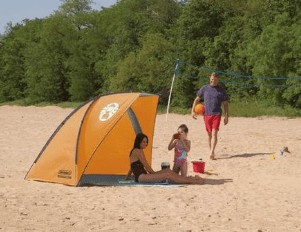 What is the best family tent for the beach