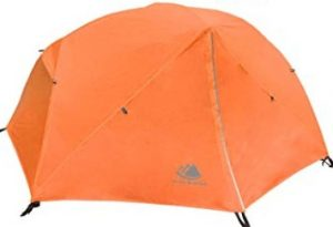 best 2 person backpacking tent with footprint and gear loft