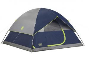 best coleman 2 person outdoor tent