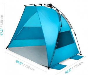 best cheap windy beach tent with high quality