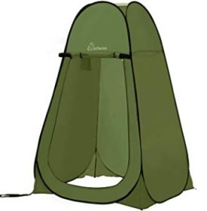Best Wolfwise pop up shower tent