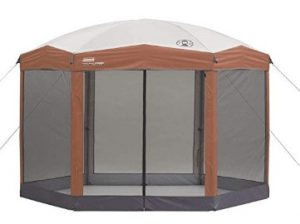 best coleman screen canopy tent