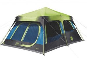 best coleman rainproof cabin tent with dark room technology