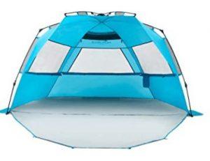 family beach cabana tent