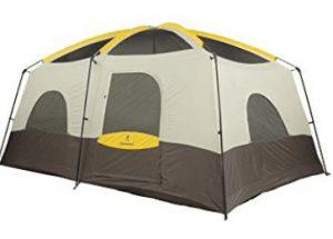 Extra tall family tent