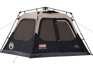best Coleman instant tent for rain and wind