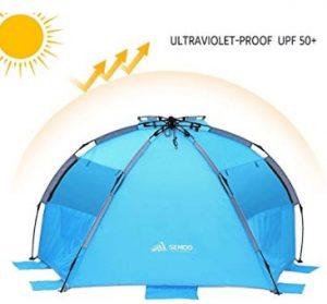 SEMOO Beach Tent Instant Set Up Sun Shade