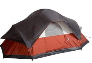 best coleman red canyon 8 man tent
