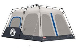 best coleman 8 man pop up tent