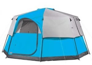 best coleman 8 person tent