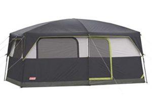 coleman 9 man cabin tent