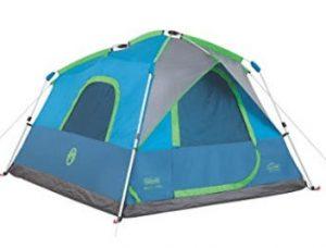 coleman instant pop up tent