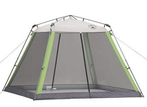coleman instant tent with screen room