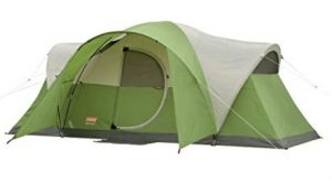 coleman easy setup 8 person tent