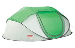 Coleman 4 person pop up beach tent
