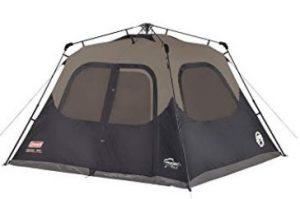 best coleman 6 man pop up tent