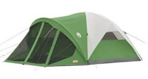 coleman dome tent with screen porch