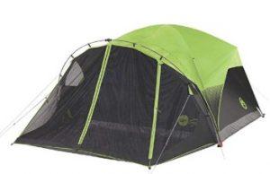 best coeman 4/6 man winter tent