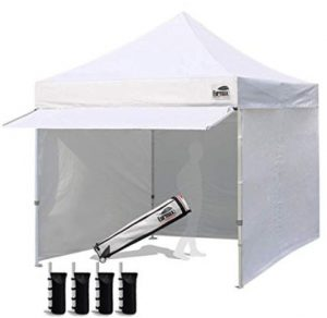 best easy up canopy tent