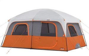 large family tent for rain and wind