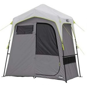 camping shower changing room and shower tent