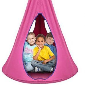 standing room hanging tent